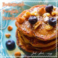 Butterscotch Pumpkin Pancakes