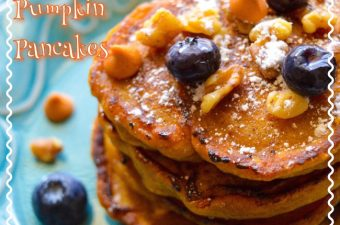 Before Fall even arrives, I am thinking pumpkin! These Butterscotch Pumpkin Pancakes recipe is perfect for this time of year especially if you love pumpkin!