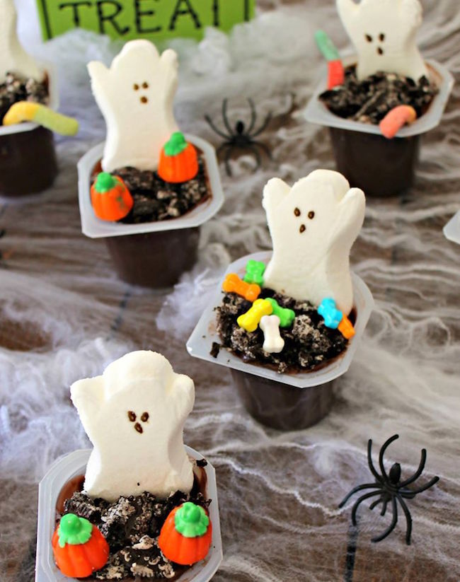 These Halloween Graveyard Pudding Cups are so simple to make even the kids can get in on the action and delight their taste buds this Halloween.