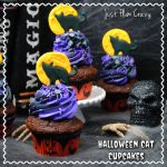 Halloween Cat Cupcake Recipe