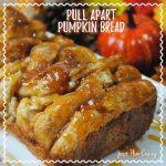 Pull Apart Pumpkin Bread Recipe Day 4 #12DaysOf