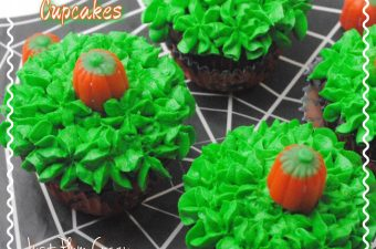 Halloween is just a couple days away and the Pumpkin Patch cupcake recipe is a quick and easy recipe to make at the last minute.