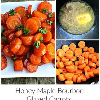 Today, we are sharing Honey Maple Bourbon Glazed Carrots recipe. You won't believe how incredibly simple these are to make but the taste is incredible.