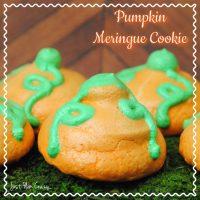 Pumpkin Meringue Cookie