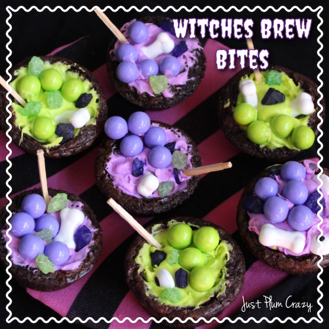 There is nothing like some good old Witches Brew for Halloween. Today we are bringing you an easy Witches Brew Bites recipe. Say that three times fast!