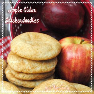 It's no secret that I love Snickerdoodle cookies. When I found this Apple Cider Snickerdoodle Cookie Recipe, I thought Oh-Em-Gee...I am in heaven!
