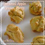 Caramel Apple Cream Puffs Recipe