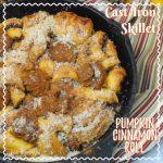 Cast Iron Skillet Pumpkin Cinnamon Roll Recipe