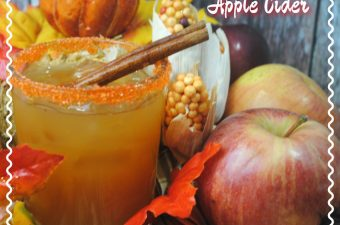 "Here's a little Fireball Apple Cider recipe that will surely warm you up on a cold crisp evening. And I don't mean ""warm"" in the sense of microwave."