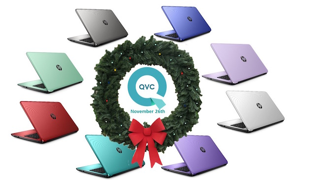 I'm here to share with you about the lowest price of the season EVER on their HP 15 Notebook PC on QVC this Saturday, November 26th, 2016.