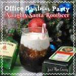 Office Christmas Party Naughty Santa Rootbeer Cocktail Recipe