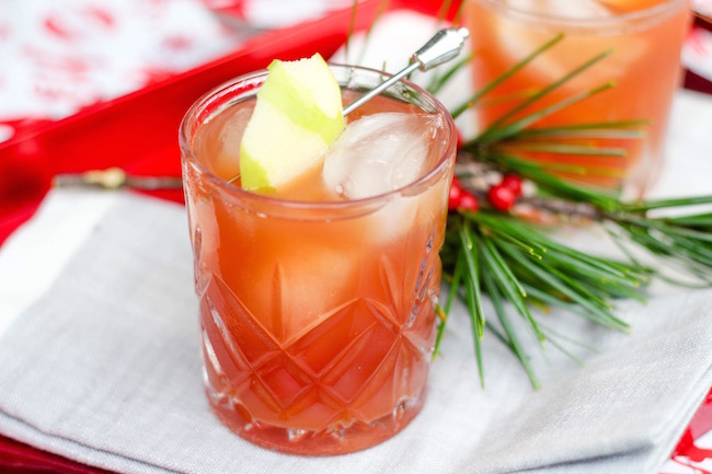Apple Screwdriver Cocktail