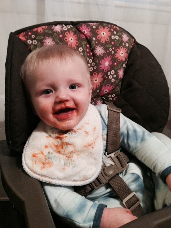 Throwing, smashing and playing with their food can be good for babies & helps kids learn. Dreft makes those spaghetti stains and grass stains come out.