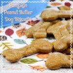 Pumpkin Peanut Butter Dog Biscuits Recipe