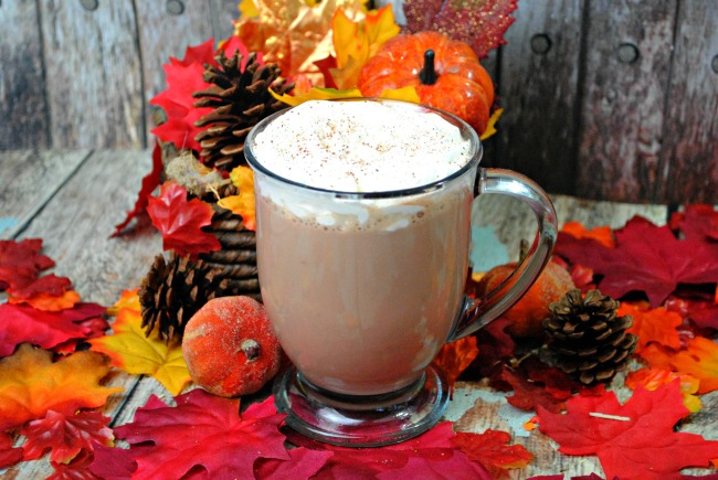 The holidays are here and a Pumpkin Mocha Latte recipe is perfect for sitting next to the fire and curling up with a good book.