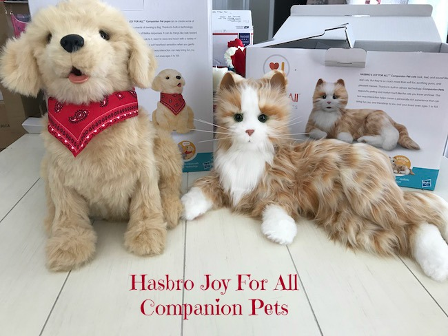 Joy for all companion pets from Hasbro