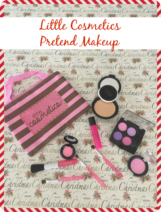 With vibrant shades and a realistic texture this set is sure to please your little girl. The pretend makeup is completely fake and absolutely mess free!