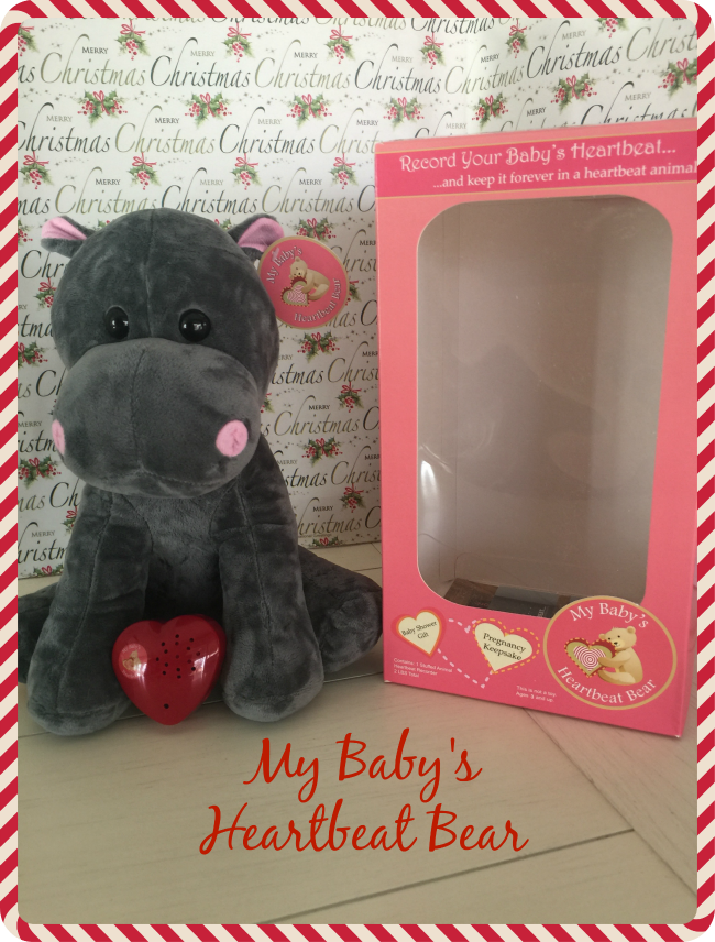 It's a great feeling hearing your baby's heartbeat. What's even better is when you can record it with the My Baby's Heartbeat Bear.