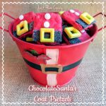 Chocolate Santa's Coat Pretzels Recipe