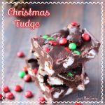 Christmas Fudge Recipe