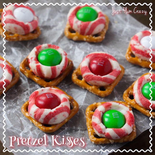 The Pretzel Kisses Recipe is just that....easy! It doesn't get much easier than this, unless of course you buy them already done.