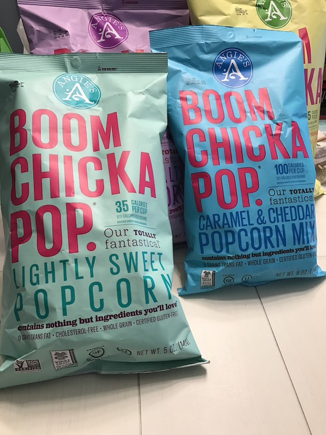 One of my favorite tips is to keep snacks simple with Angie's BOOMCHICKAPOP! It's the perfect way to bring the BOOM! to your March Madness Game Day party.