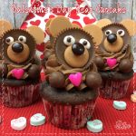 Valentine's Day Bear Cupcake Recipe