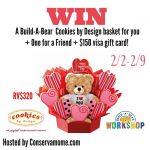 Build A Bear + Cookies By Design Giveaway (ends 2/9)