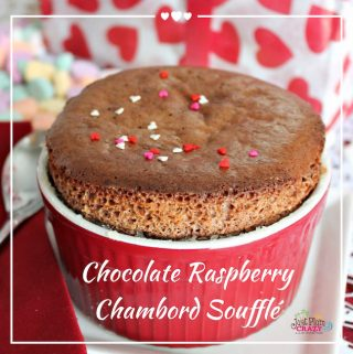 If you're cooking a romantic dinner for your Valentine, you'll want to include this warm, creamy, sinfully good Chocolate Raspberry Chambord Souffle Recipe.