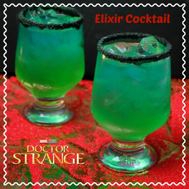 With Dr. Strange available on DVD today, what better opportunity to have a Dr. Strange Elixir Cocktail recipe than while you are watching it!