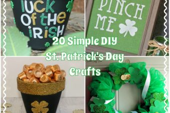 With St. Patrick's Day upon us, there is still time to make some simple DIY St. Patrick's Day crafts that are easy and fun.