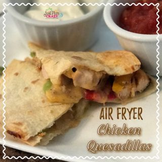 Air Fryer Chicken Quesadilla