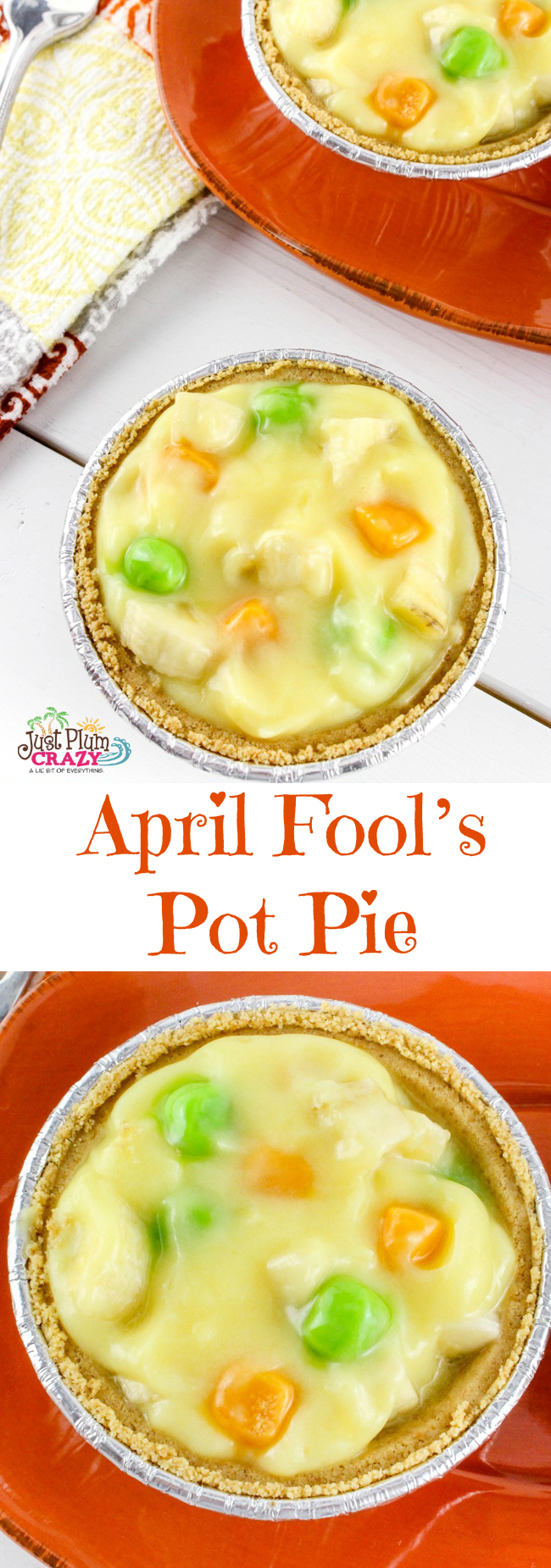 We've seen April Fool's pranks of all kinds, sugar in the salt-shaker, salt in the sugar container, going into labor, & April Fool's Pot Pie Recipe.
