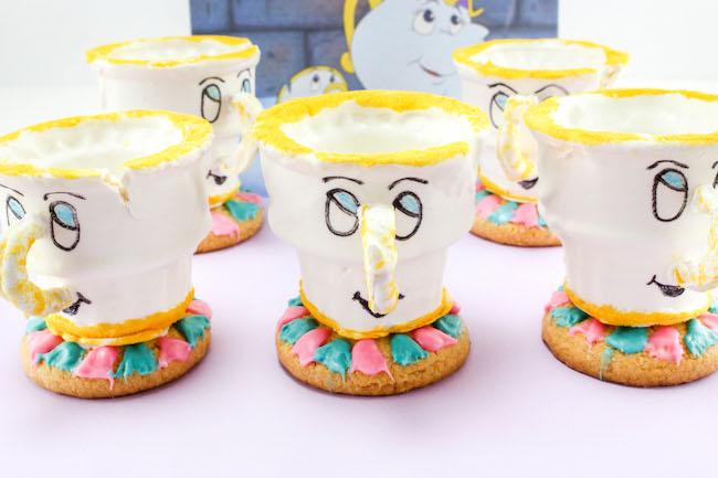 Beauty and the beast Teacup Cupcake Recipe