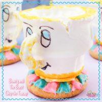 Beauty & The Beast Teacup Cupcake