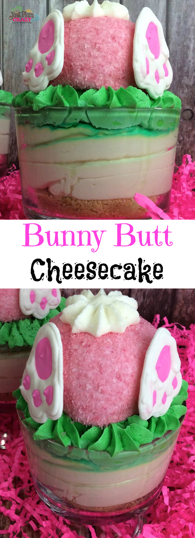 Today we are sharing an Easter Bunny Butt Cheesecake recipe. Simple to make and a great dessert too. Because who doesn't love cheesecake?