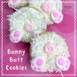 Easter Bunny Butt Cookies Recipe