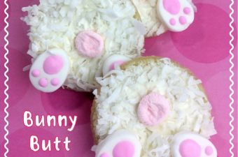 There are still a few more to come after today's Easter Bunny Butt Cookies recipe. So be sure to stop back or sign up for our weekly newsletter.