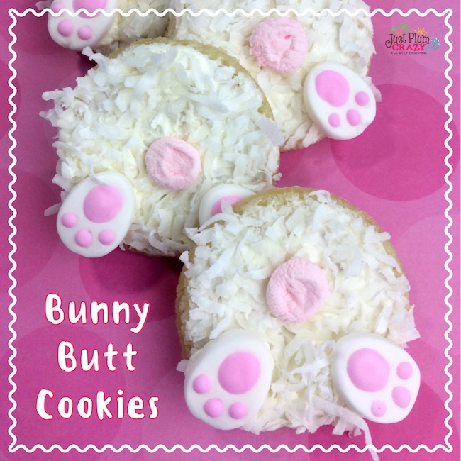Easter Bunny Butt Cookies Recipe