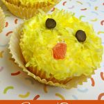 Easter Chick Cupcakes Recipe Day 11 #12DaysOf