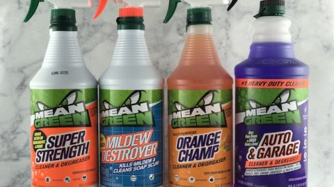 Have you ever noticed when you have something you need to clean outdoors, it requires a super strength degreaser? Mean Green helps with all that.