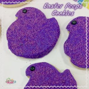 With Easter only a couple of weeks away, now is the time to start thinking about what you are making & the Peep Chick Cookies recipe is perfect.
