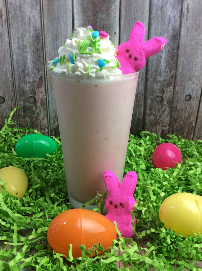 Sometimes I like recipes that are easy & the Strawberry Peep Milkshake recipe is one of those. It can be even used as dessert.