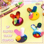 DIY Easter Bunny Crayons Craft