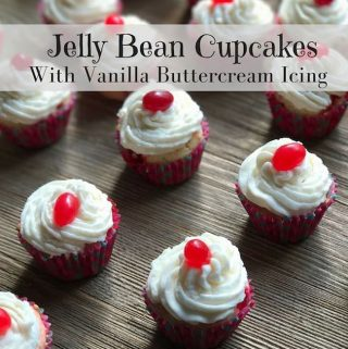 If you are looking for a creative way to use up all those jelly beans, try this recipe for Jelly Bean Cupcakes Recipe With Vanilla Buttercream Icing.