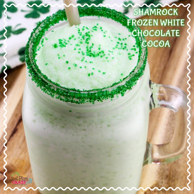 Shamrock Frozen White Chocolate Cocoa Recipe