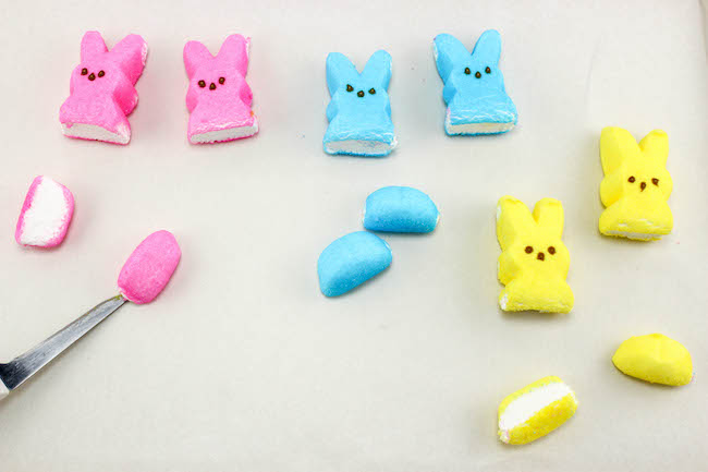 Cutting Peeps For Mobile