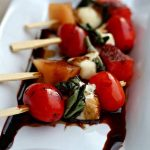 Grilled Caprese Salad on a Stick Recipe Day 5 #12DaysOf