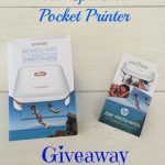 HP Sprocket Giveaway – April Flowers Giveaway Hop #TheHoppingBloggers #HPSprocket (ends 4/18)