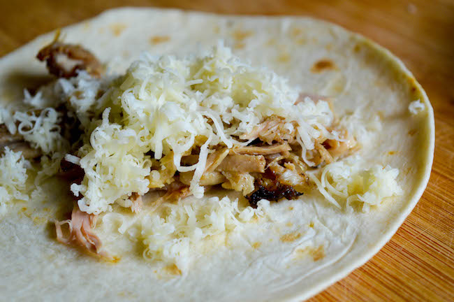 Taquito recipe with pork